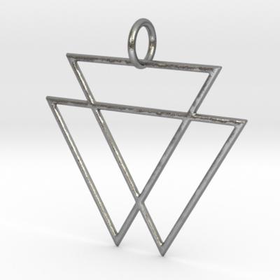 VAMPYRE Silver Pendant