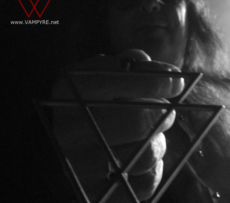 Nosferatu with the VAMPYRE Symbol at Vision Studios